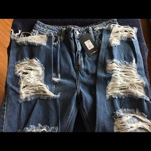 Ladies Fashion Nova Jeans in style